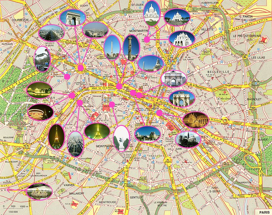 kayat kandi City map of Paris – Paris City Map Tourist